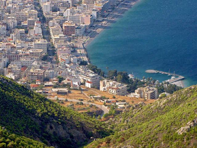 Лутраки Греция. Отели с термальными источниками на карте. Фото, цены, отзывы