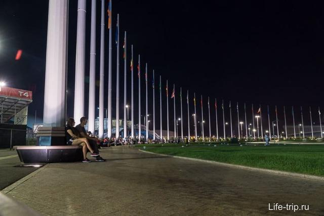 Шоу фонтанов в Олимпийском парке, Сочи. Расписание 2020, история, описание, технические особенности, мероприятия