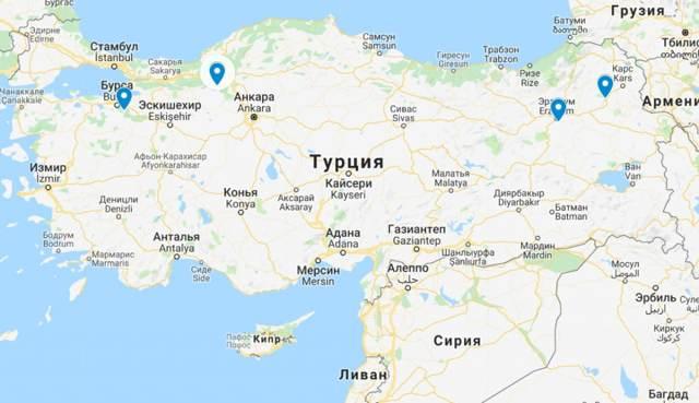 Горнолыжные курорты в Турции. Список, где на карте, цены, отзывы