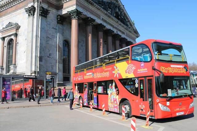 Автобусные экскурсии по СПб для детей, школьников, взрослых на двухэтажном автобусе. Расписание недорогих и интересных