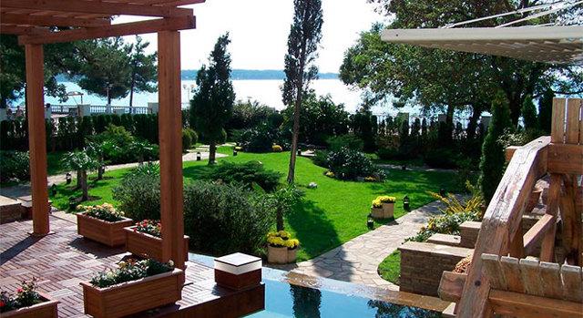 Отели Геленджика с бассейном рядом с морем, с собственным пляжем, питанием Все включено. Цены и отзывы