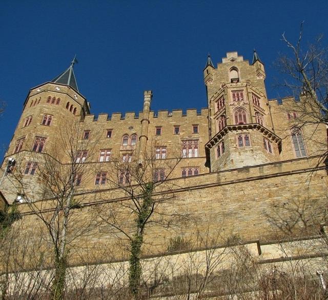 Замок Гогенцоллерн Штутгарт, Германия. Адрес, как добраться, фото, что посмотреть