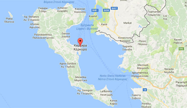 Керкира. Достопримечательности города на карте, фото, описание, монастырь, площадь, что посмотреть в Корфу, Греция