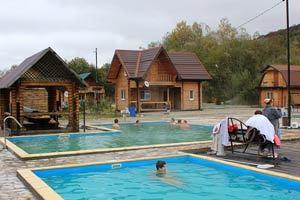 Водолей база отдыха, Гуамское ущелье. Отзывы об отдыхе, цены, сайт, термальные источники, адрес, как добраться