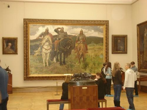 Государственная Третьяковская галерея. Произведения, картины, выставки, фото, где находится, адрес, часы работы, как добраться