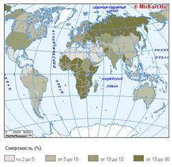 Страны с наибольшей плотностью населения в мире 2020: Европе, Азии, Африке, Америке