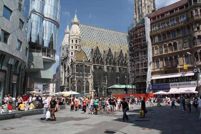 Собор Святого Стефана, Вена, Австрия. Фото, история, адрес, часы работы, катакомбы, достопримечательности, интересные факты