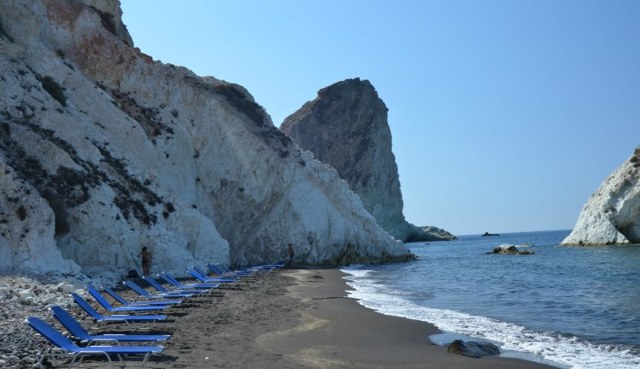 Остров Санторини, Греция. Фото пляжей и набережной, отели на карте, отзывы, цены на отдых