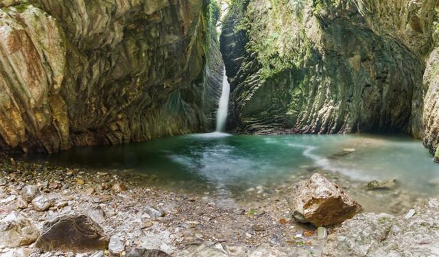 Свирское ущелье, Лазаревское. Фото, карта, отзывы, как добраться самостоятельно