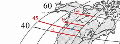 Как определять широту и долготу, географические координаты на карте. География