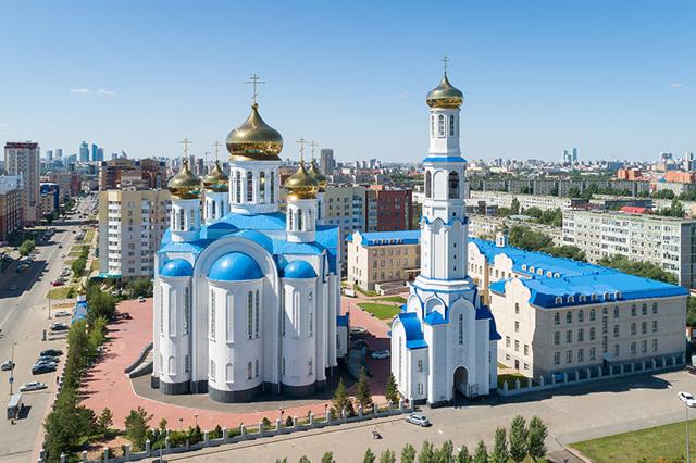 Изумрудный квартал, Казахстан, Нур-Султан. Фото, история, адрес, интересные факты