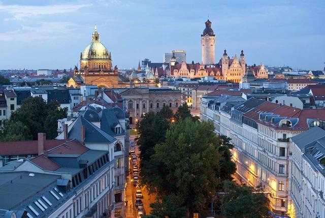 Лейпциг. Достопримечательности, фото с описанием на карте, что посмотреть за 1-2 дня в городе и окрестностях. Маршруты для туристов