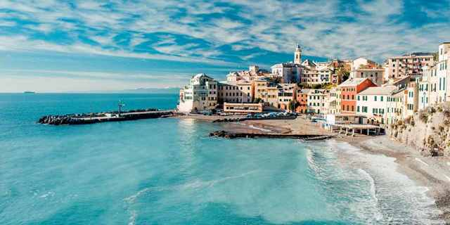 Генуя, Италия пляжный отдых. Фото, карта, отели, цены и отзывы туристов