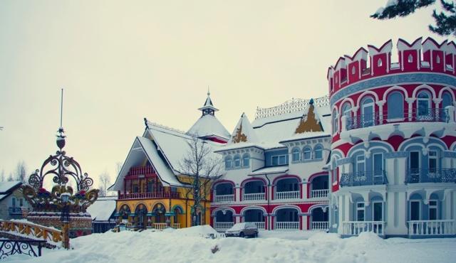 В некотором Царстве, Рязань. Фото отеля, развлекательный комплекс, парк, бани. Адрес, цены, отзывы