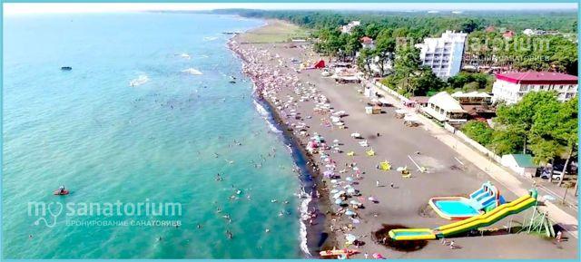 Уреки, Грузия. Фото, погода, магнитные пески, пляж, отели, расстояние от Батуми, как добраться, отзывы