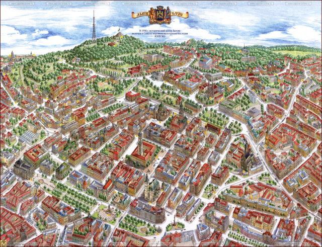 Львов. Достопримечательности, фото всех красивых мест, что посмотреть, путеводитель на карте, экскурсии, куда пойти