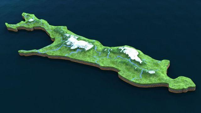 Сахалин на карте России, Сахалинская область с городами. Где находится остров, климат и описание