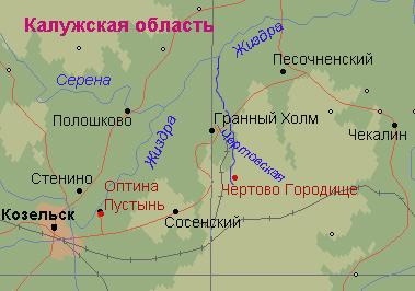 Оптинская пустынь монастырь. Где находится Оптина на карте, фото, история, адрес, расписание богослужений, как добраться